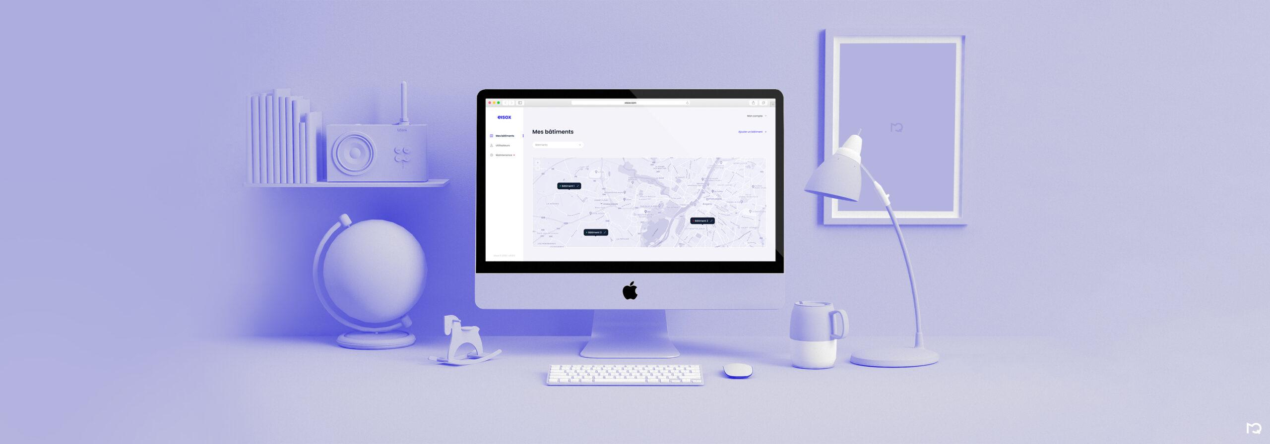 Page d'accueil Eisox sur PC